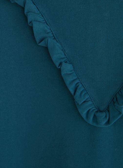Vêtements Arsène et les Pipelettes Robe Col Froufrou Bleu vue portées chaussures