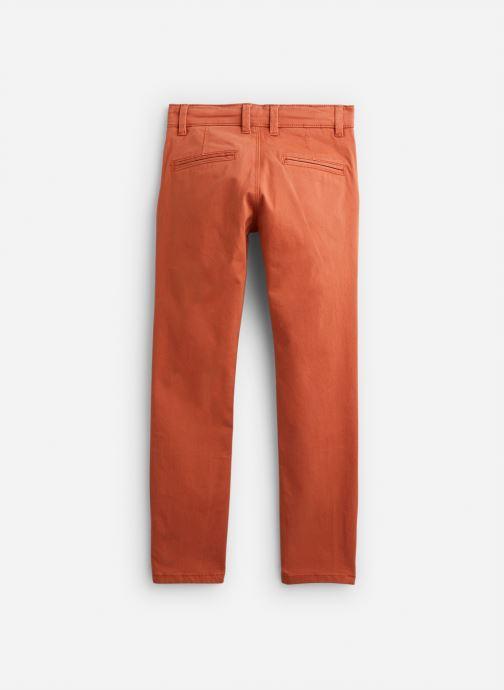 Vêtements Arsène et les Pipelettes Pantalon Tomette Orange vue bas / vue portée sac