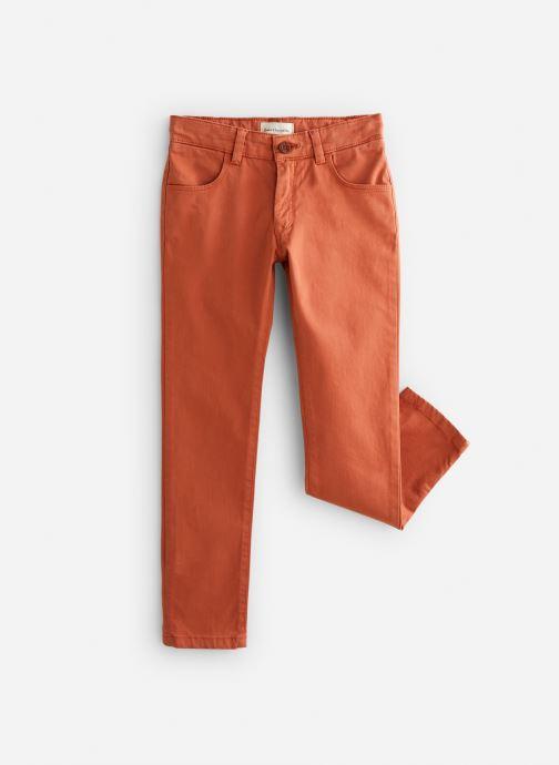 Vêtements Arsène et les Pipelettes Pantalon Tomette Orange vue détail/paire