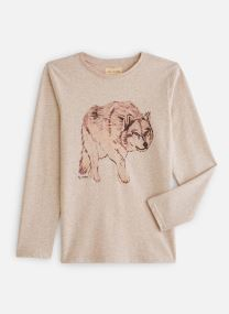 T-shirt chiné Loup