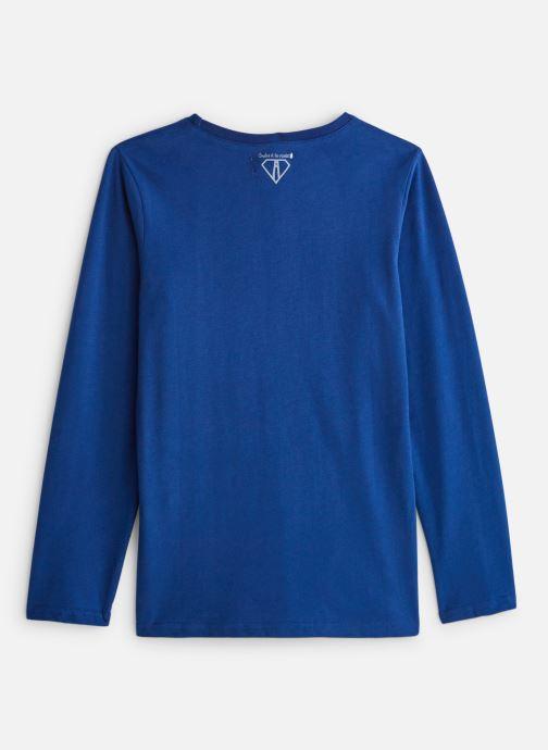Vêtements Arsène et les Pipelettes T-shirt flock Niet Bleu vue bas / vue portée sac