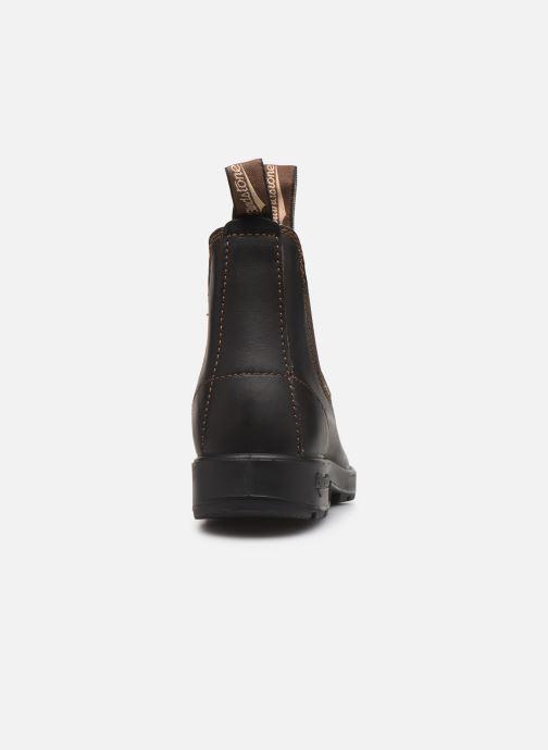 Boots en enkellaarsjes Blundstone 500 Bruin rechts