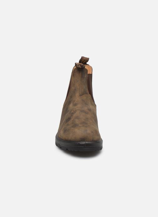 Bottines et boots Blundstone 585 Marron vue portées chaussures