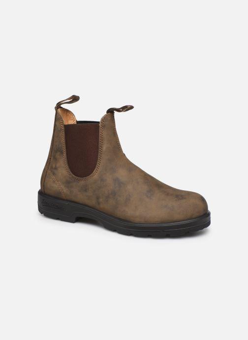 Bottines et boots Blundstone 585 Marron vue détail/paire