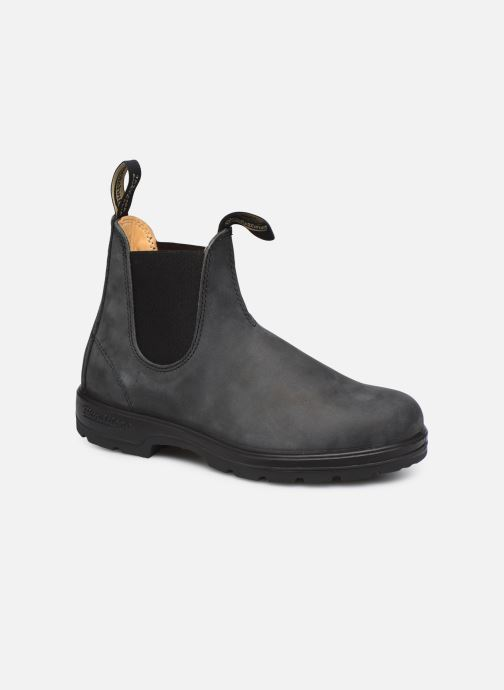 Ankle boots Blundstone 587 Black detailed view/ Pair view