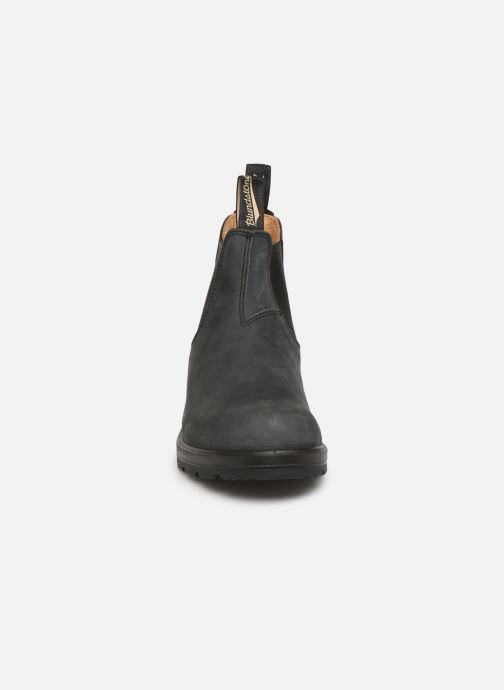Stivaletti e tronchetti Blundstone 587 Nero modello indossato
