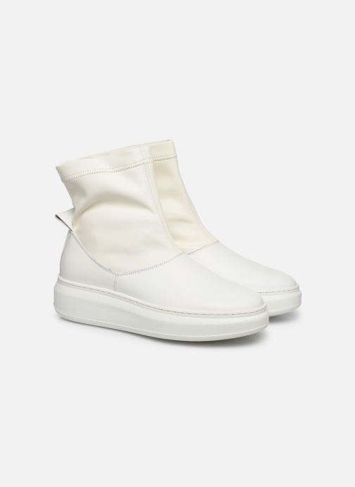 Bottines et boots Another Project Coco C Blanc vue 3/4