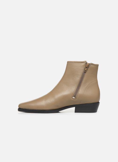 Bottines et boots Another Project Elly C Marron vue face