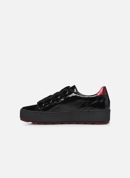 Sneaker Gabor Maloe schwarz ansicht von vorne
