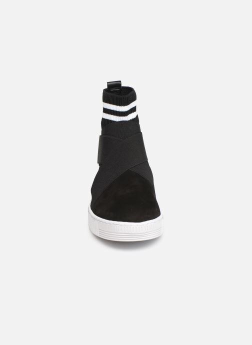 Baskets Gabor Noa Noir vue portées chaussures