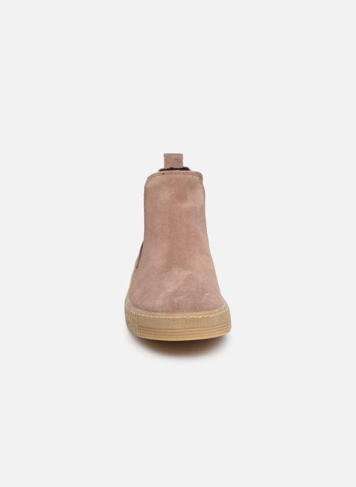 Boots en enkellaarsjes Gabor Komo Roze model