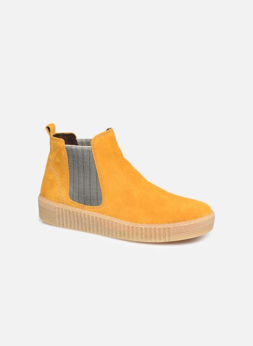 Bottines et boots Gabor Komo Jaune vue détail/paire