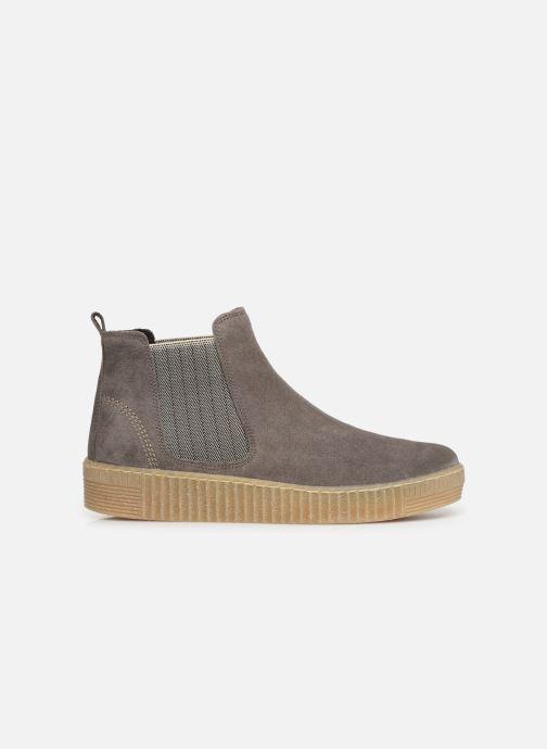 Stiefeletten & Boots Gabor Komo grau ansicht von hinten