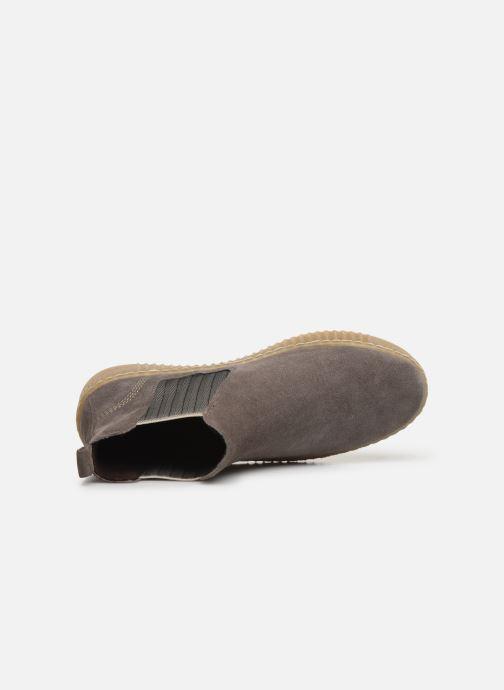 Stiefeletten & Boots Gabor Komo grau ansicht von links