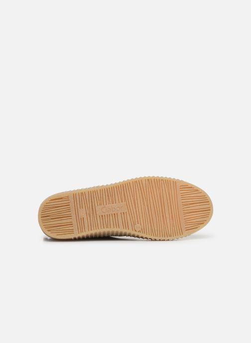 Stiefeletten & Boots Gabor Komo grau ansicht von oben