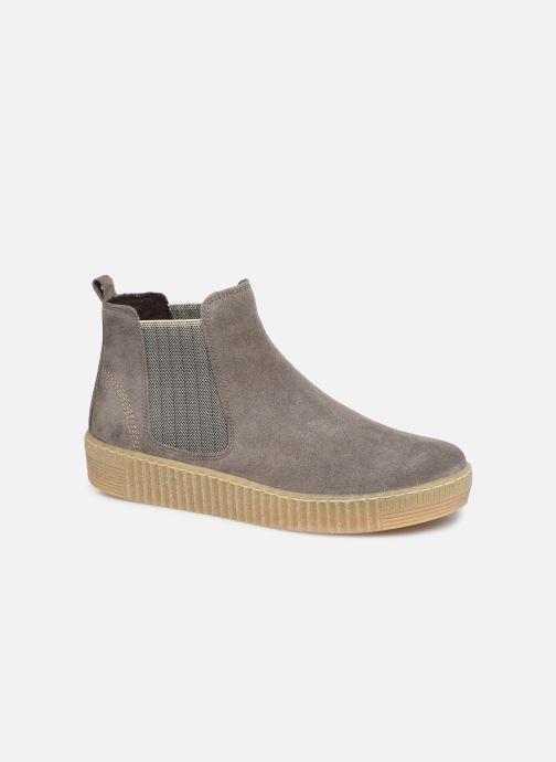 Bottines et boots Gabor Komo Gris vue détail/paire