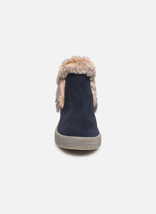 Bottines et boots Gabor Komo Fourré Bleu vue portées chaussures