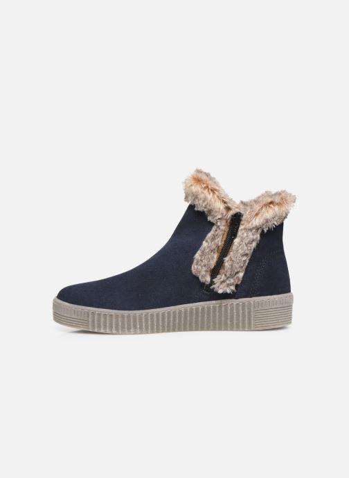 Bottines et boots Gabor Komo Fourré Bleu vue face