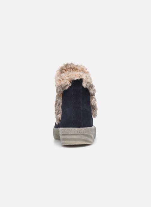 Bottines et boots Gabor Komo Fourré Bleu vue droite