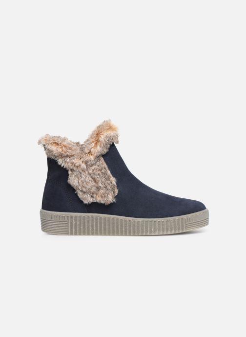 Bottines et boots Gabor Komo Fourré Bleu vue derrière
