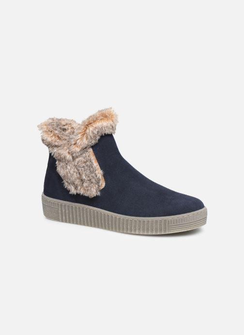 Bottines et boots Gabor Komo Fourré Bleu vue détail/paire