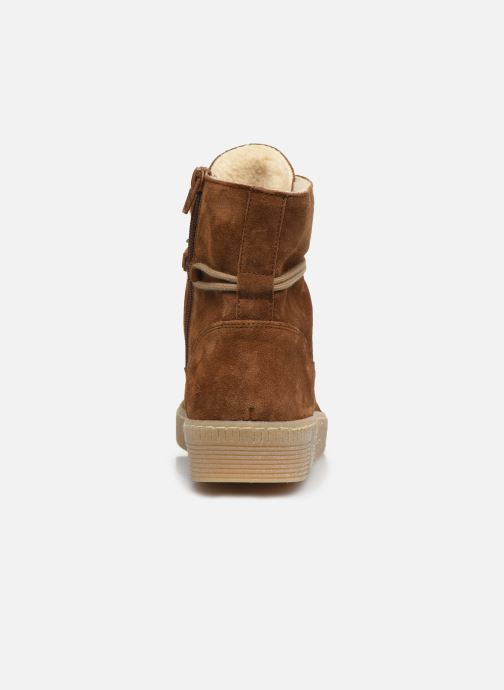Ankle boots Gabor Rang Brown view from the right