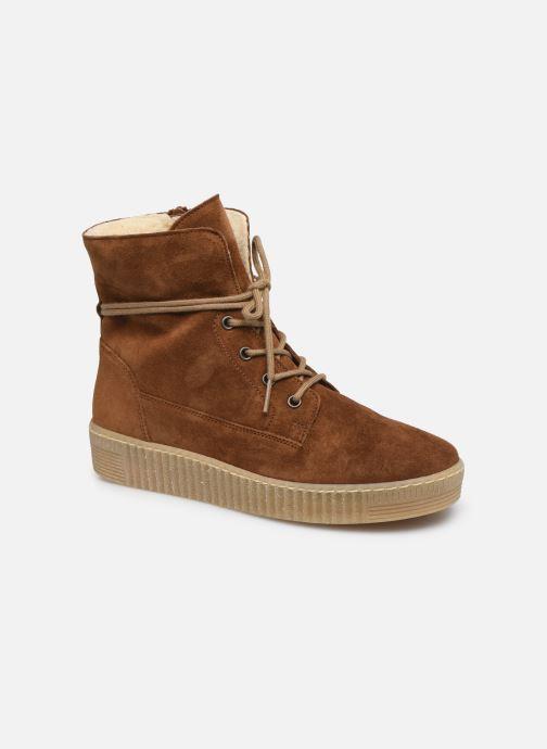 Bottines et boots Gabor Rang Marron vue détail/paire