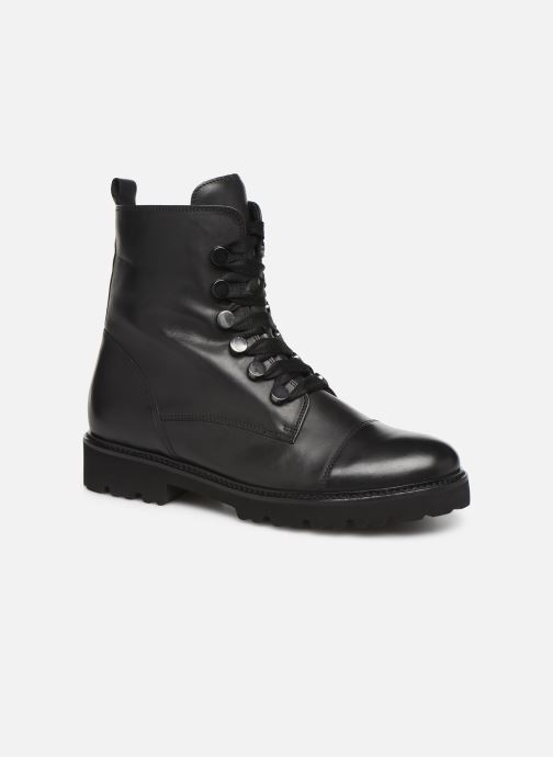 Boots en enkellaarsjes Gabor Hibia Zwart detail