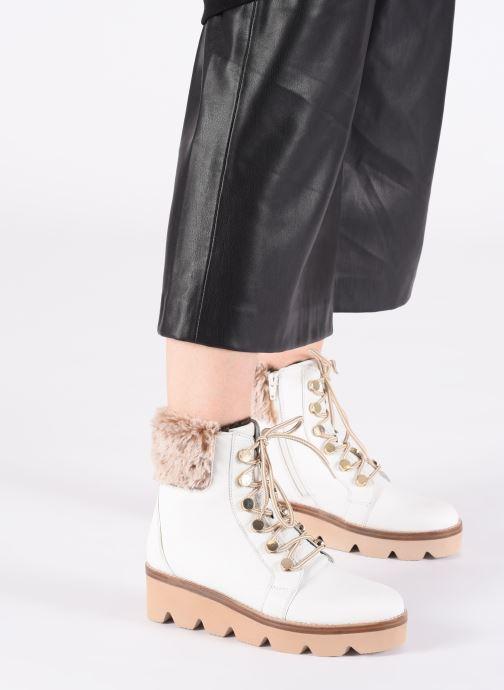 Bottines et boots Gabor Hiki Blanc vue bas / vue portée sac