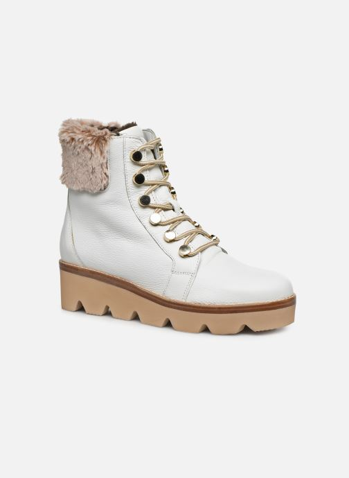 Bottines et boots Gabor Hiki Blanc vue détail/paire