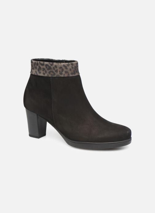 Boots en enkellaarsjes Gabor Pali Zwart detail