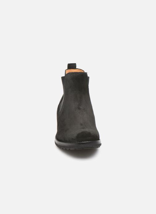 Botines  Gabor Marol Negro vista del modelo