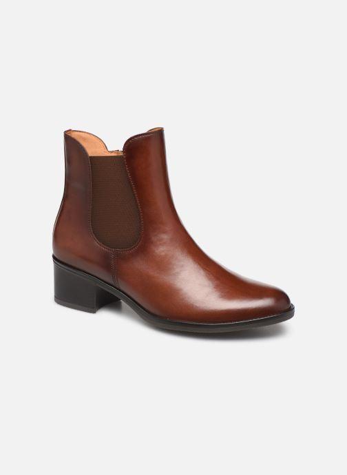 Bottines et boots Gabor Lora Marron vue détail/paire