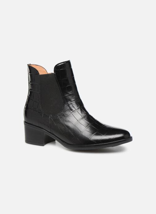 Boots en enkellaarsjes Gabor Lora Zwart detail