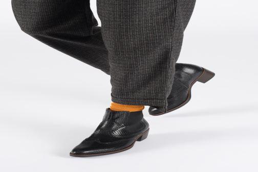 Stiefeletten & Boots Gabor Wanda schwarz ansicht von unten / tasche getragen