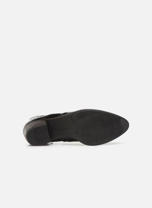 Bottines et boots Gabor Wanda Noir vue haut