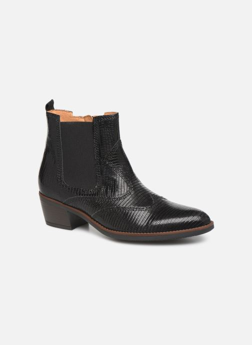 Boots en enkellaarsjes Gabor Wanda Zwart detail