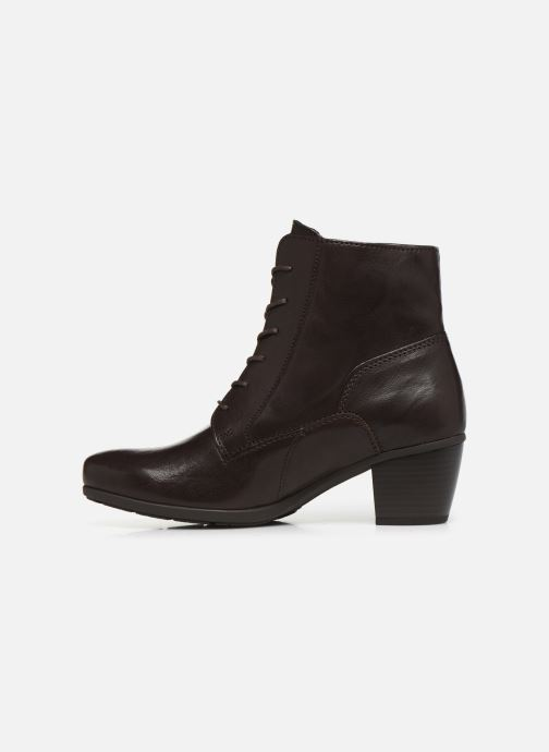Bottines et boots Gabor Tiro Marron vue face