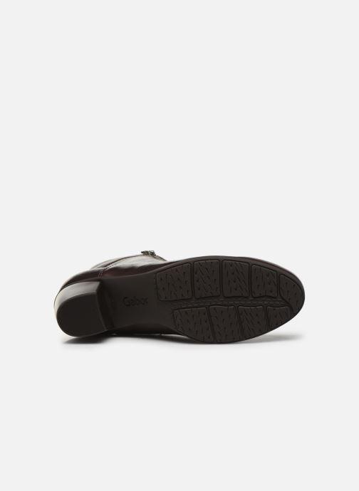 Stiefeletten & Boots Gabor Tiro braun ansicht von oben