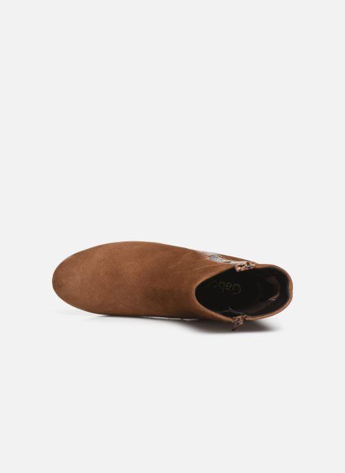Bottines et boots Gabor Phiphi Marron vue gauche