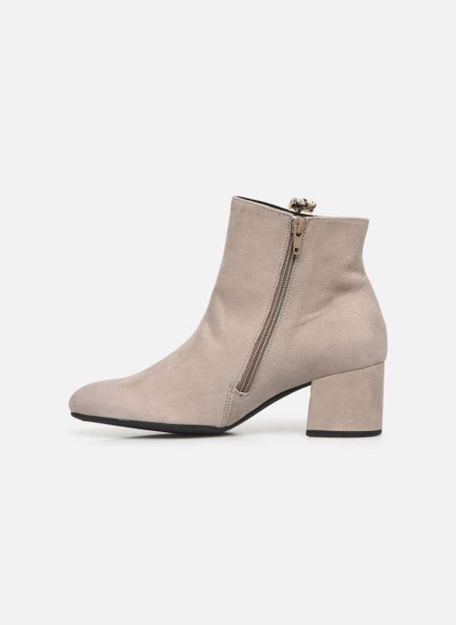 Bottines et boots Gabor Phiphi Gris vue face