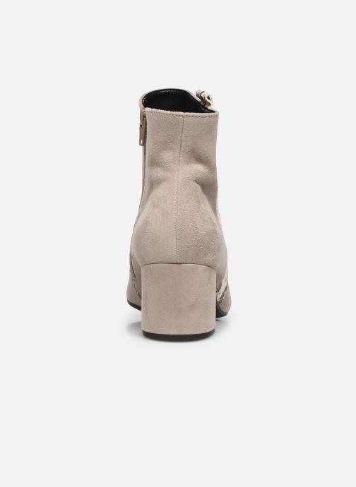 Bottines et boots Gabor Phiphi Gris vue droite