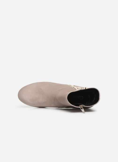 Bottines et boots Gabor Phiphi Gris vue gauche