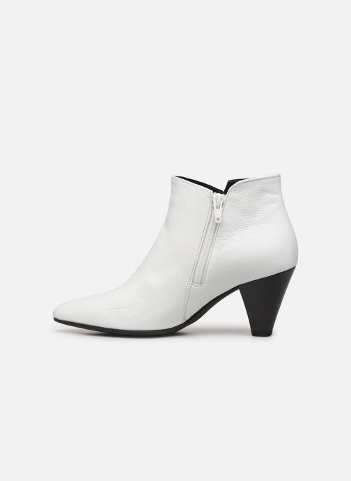 Bottines et boots Gabor Laomi Blanc vue face