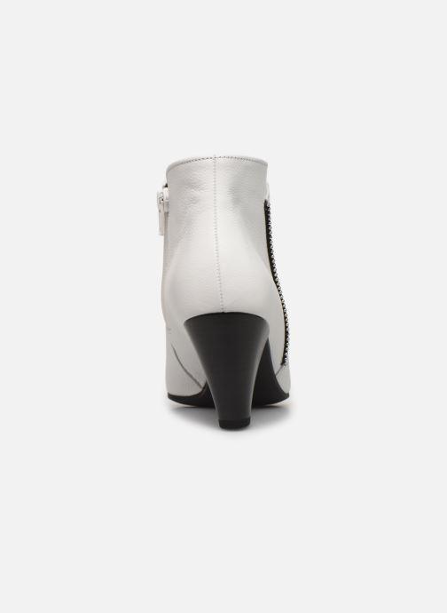 Bottines et boots Gabor Laomi Blanc vue droite