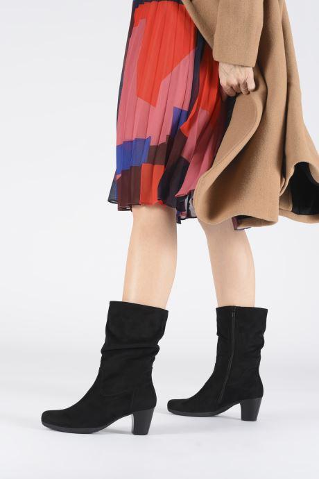 Bottines et boots Gabor Koa Noir vue bas / vue portée sac