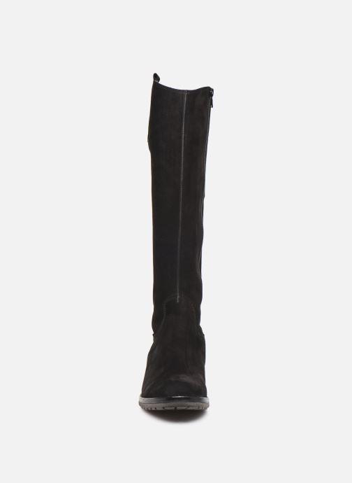 Bottes Gabor Huli Noir vue portées chaussures