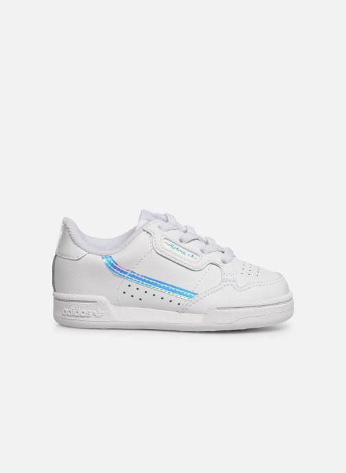 Baskets adidas originals Continental 80 El I Blanc vue derrière