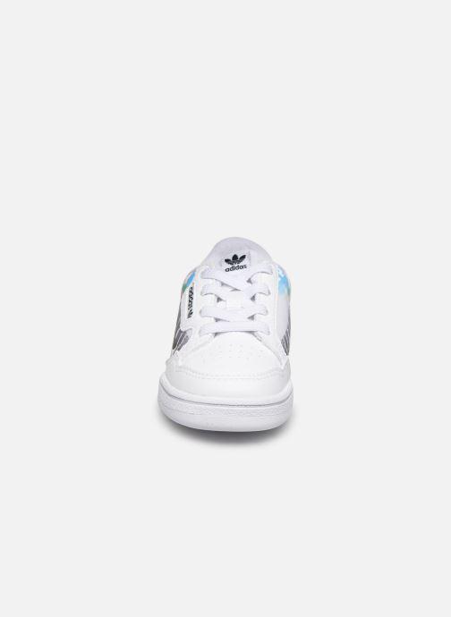 Sneaker adidas originals Continental 80 El I weiß schuhe getragen