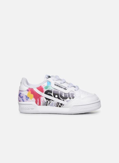 Sneaker adidas originals Continental 80 El I weiß ansicht von hinten